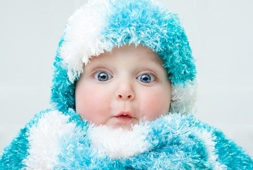 Prevenite il raffreddore del bebè nella stagione delle piogge
