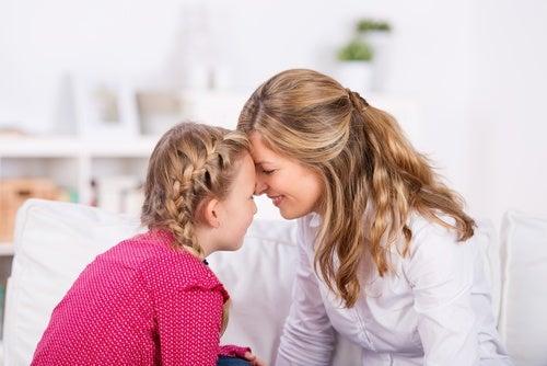 mamma e figlia testa