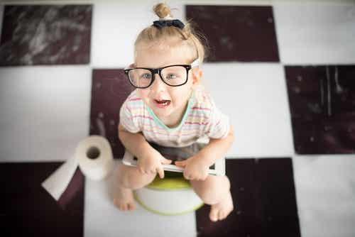Addio al pannolino: le reazioni dei bambini