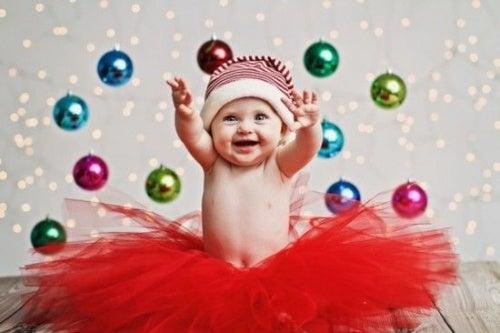 La miglior fotografia natalizia del vostro bambino