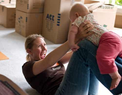 Giocate con il vostro bambino per stimolarlo