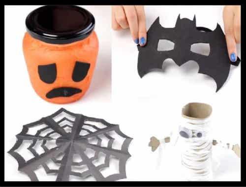 Video - 4 lavoretti di Halloween per bambini, da realizzare con i figli