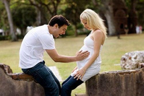 La gioia di una coppia può vacillare davanti ad un caso di sanguinamento durante la gravidanza
