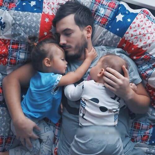 dormire-con-papa