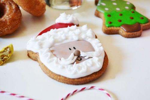 Biscotti perla cena di Natale