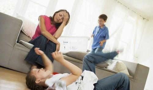 mamma a tempo pieno-stress