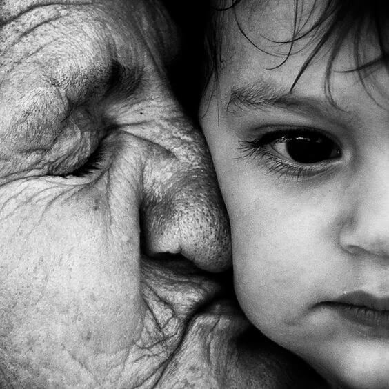 nonna e bimbo