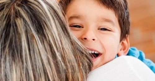 Quando si tratta di dare un abbraccio,ogni momento è quello ideale