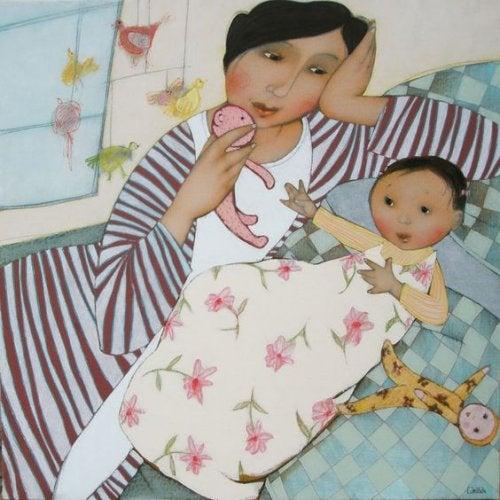 Le madri non dormono: sono sempre all'erta