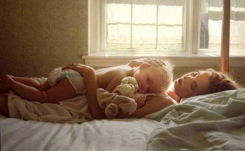Tutti quei meravigliosi momenti sola con un figlio