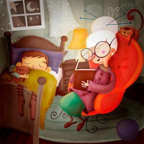 Nonno e nonna: i secondi genitori