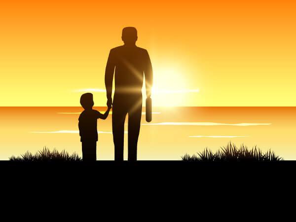 Dire ai nostri figli che li amiamo passando del tempo insieme.