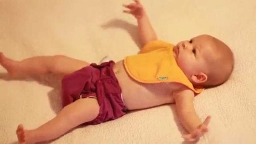 Riflesso di Moro nel bambino