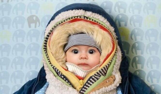 Coprire troppo il bambino è uno degli errori delle neomamme.