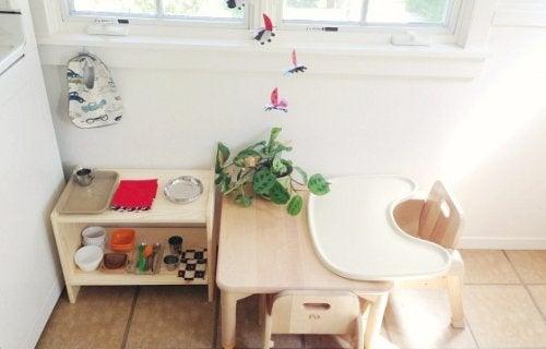 Il metodo Montessori: uno spazio a misura di bambino.