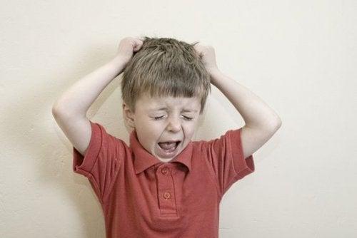 A partire dai due o tre anni di età, si manifestano i primi problemi correlati alla disobbedienza