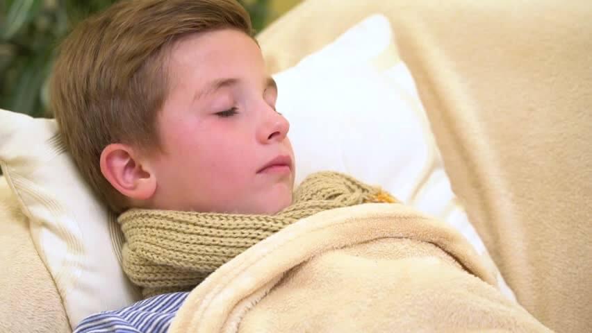 con la febbre stare a riposo