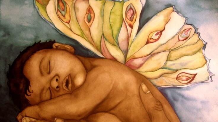 L'amore per il proprio figlio fin dalla nascita