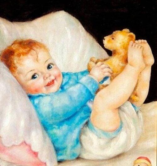 Figlio mio, quando sorridi cancelli la tristezza e illumini le mie speranze