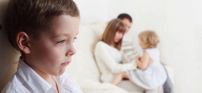 La gelosia del primo può accompagnare la maternità con il secondo figlio