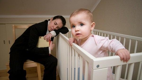 La vostra presenza è utile per far dormire il bebè tranquillamente