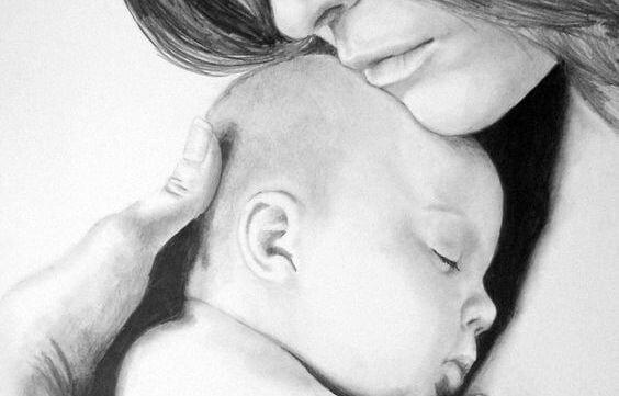 Stare in braccio favorisce l'allattamento.
