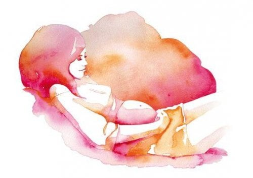 Stimolazione prenatale del feto.