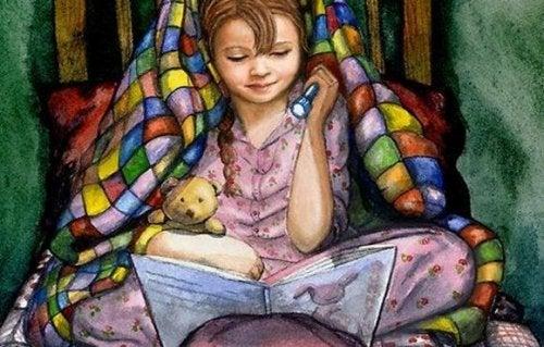 leggere sotto alle coperte