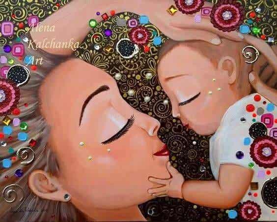 Il mio miglior successo nella vita: essere la tua mamma