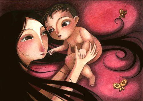 I bambini hanno bisogno di amore materno