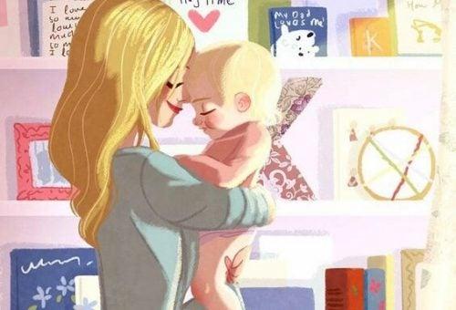 Anche io lo faccio: sveglio i miei figli con un bacio