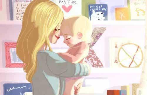 Perché i neonati vogliono stare sempre in braccio?