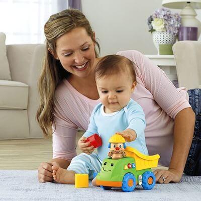 giocare con il bambino