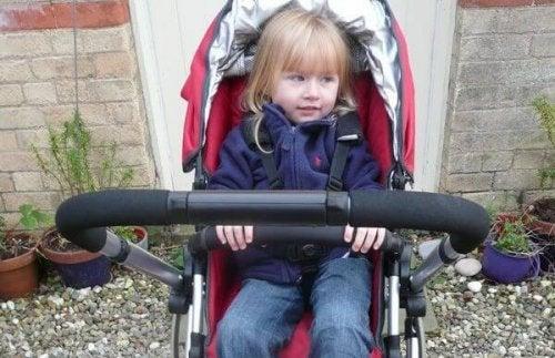 L'età giusta per il passeggino è fino a 3 anni, ma varia da bambino a bambino.