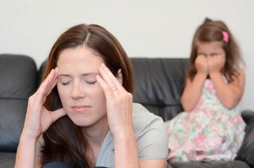 Chiedere perdono: madre stanca
