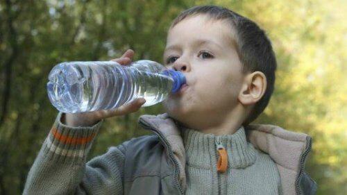 L'acqua può provocare un senso di sazietà