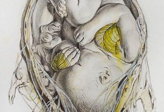L'utero, il posto più sicuro, staccato dalla paura