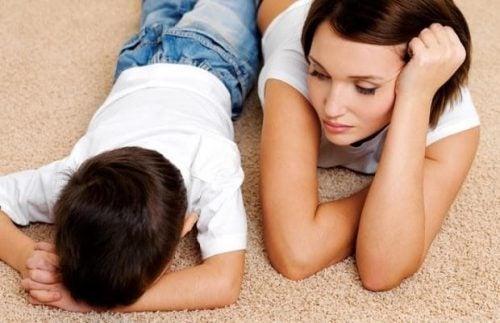 Come scoraggiare i capricci del bambino?