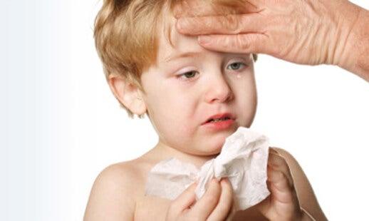 la polmonite nei bebè
