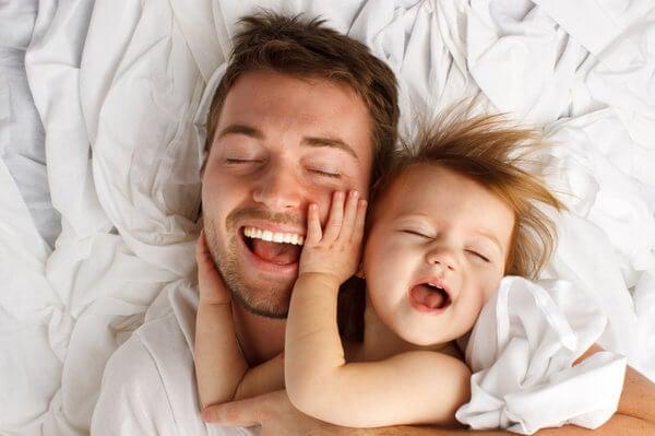 Perché preferisce il papà: con lui c'è solo il gioco