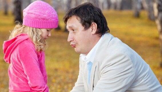 Un padre deve insegnare a sorridere