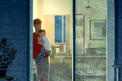 L'amore paterno guarisce tutte le sofferenze