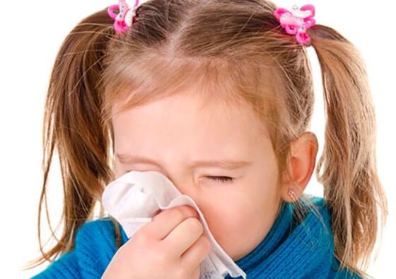 Raffreddore nei bambini