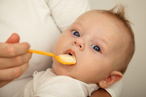 Come introdurre cibi solidi nella dieta del bebè?