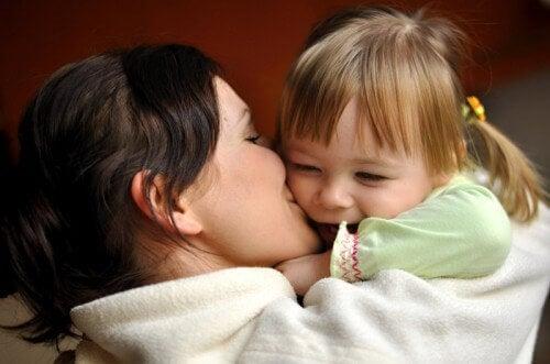 L'affetto è molto importante per i bambini