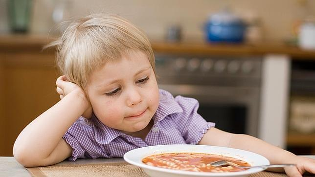 Bambino non vuole mangiare
