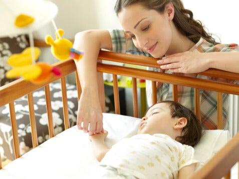 La posizione migliore per far addormentare il vostro bambino