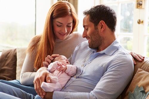 primi mesi di vita del bebè
