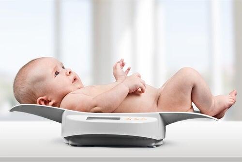 I percentili del bebè secondo la sua età