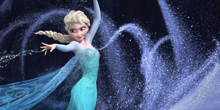 Elsa, una delle due protagoniste di Frozen congela tutto ciò che tocca